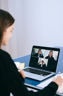 Avoid other people intruding on an interview by setting up different meeting rooms
